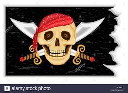 Scottish Pirate Flag Flag Bandanna Stock Photos U0026 Flag Bandanna Stock Images Alamy