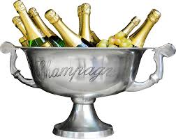 champagne transparent free champagne bottles in a cooler new year png image