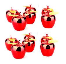 aliexpress buy 12 pcs set hanging glitter apple