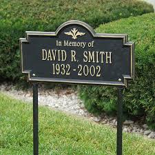 memorial markers memorial markers