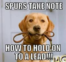 Spurs Meme - arsenal fans lead the way laughing at tottenham for blowing their