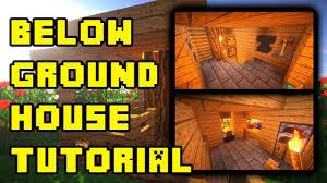 Minecraft House Design Ideas Xbox 360 by Minecraft Underground House Base Design Ideas Build Tutorial