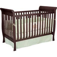 Convertible Sleigh Bed Crib Delta Children Glenwood 3 In 1 Convertible Sleigh Crib Espresso