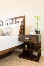 ana white build a mini farmhouse bedside table plans free and