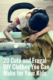 20 cute and frugal diy clothes you can make for your kids jpg