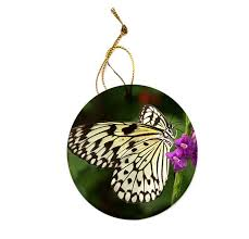 tree nymph butterfly ornament huedew