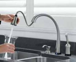 kitchen faucet touchless delta faucet review touch2o automatic touch on technology