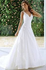 aline wedding dresses causal a line wedding dresses with plunging neckline my