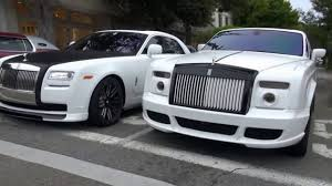 roll royce modified 50 cent with a rolls royce phantom bugatti veyron super sport