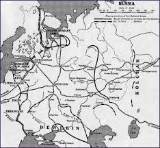 Map Of Europe 1919 by Of The Russian Civil War 1917 1920 Farthest Advance Of Anti