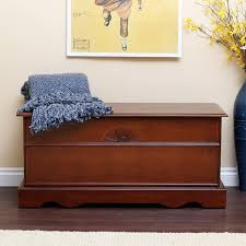 Bedroom Furniture Set Groupon Amazon Com Cedar Hope Chest Cherry Finish Wood Storage Trunk