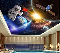 custom photo 3d ceiling murals wallpaper home decor astronaut custom photo 3d ceiling murals wallpaper home decor astronaut space technology painting 3d wall murals wallpaper for living room in wallpapers from home