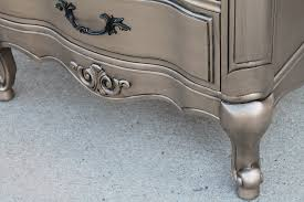 Bedroom Sets Kcmo Silver Furniture My Most Talked About Finish The Magic Brush