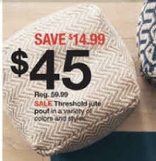 Target Pouf Ottoman Target Save Big On Threshold Bookcases And Pouf Ottomans Today