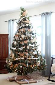 decoration country christmas tree decorations themed