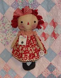 primitive doll pattern by homespun from the heart