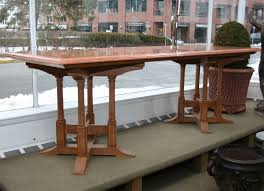 Gothic Dining Room Table by Marble Top Dining Table With Gothic Style Wood Base For Sale At