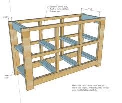jeep bed plans ana white dumpster dresser from 2x4s diy projects
