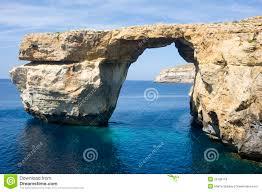 azure window gozo island malta stock photo image 53075270