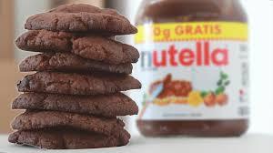 nutella kekse mit nur 3 zutaten lecker schnell und einfach