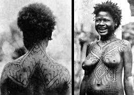 Tribal Torso - lars krutak the forgotten code tribal tattoos of papua