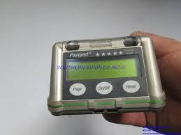 msa passport five star pulse check pump module personal alarm