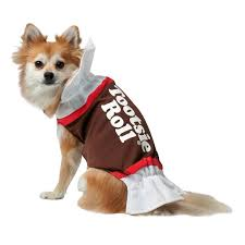 Dog Halloween Party Ideas Buy Tootsie Roll Dog Costume