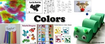 colors preschool activities lessons and worksheets kidssoup