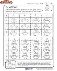 the cold facts u2013 2nd grade math worksheets u2013 jumpstart