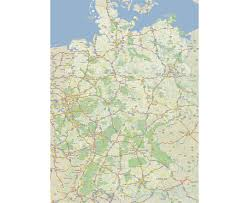 map of germany cities maps of germany detailed map of germany in tourist map