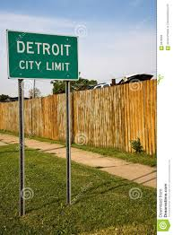 car junkyard michigan detroit michigan city limit sign stock images image 5478064