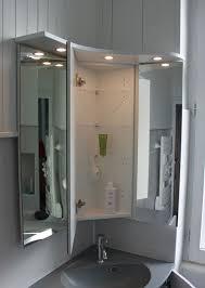 Meuble De Rangement Salle Bain Armoire 1 Miroir Meuble D Angle Pour Une Salle De Bain Atlantic Bain