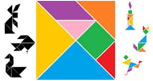 tangram puzzle printable tangrams new year activity