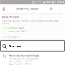 virus scan android manual virus scan verizon security privacy android verizon