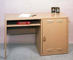 Desk Dresser Combination Mve Metal Products Combination Desk And Locker