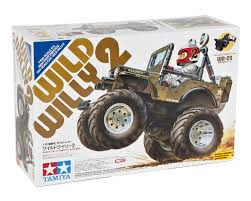 tamiya blackfoot wild willy 2000 2wd monster truck kit by tamiya tam58242 cars
