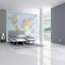 1 wall giant wallpaper mural map of the world 3 15m x 2 32m 1 wall map of the world giant wallpaper mural
