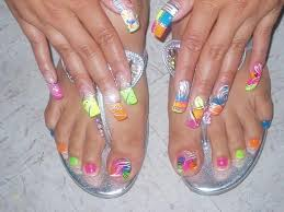 11 toe nail designs for beach ndja another heaven nails design