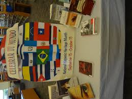 library display national hispanic heritage month library