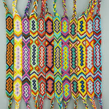 handmade bracelet string images Amiu 12pcs bohemian weave cotton friendship bracelet brazilian jpg