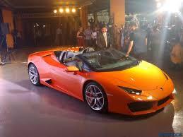 Lamborghini Huracan Automatic - new lamborghini huracan rwd spyder launched in india at inr 3 45