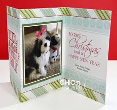 photo insert christmas cards my christmas cards chic n scratch