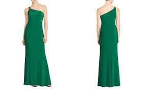 green dresses bloomingdale s