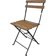 chaise de pliante 4 chaises pliantes bistro bois achat vente fauteuil jardin 4