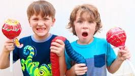 u0027s largest gummy worm gummy bear kids video