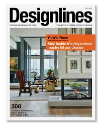 Home Decor Magazines Toronto Designlines Magazine U2014 Sali Tabacchi