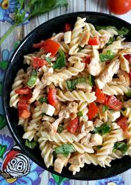 chicken caprese pasta salad recipe