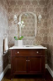 wallpaper bathroom designs modern bathrooms designs bathroom wallpaper pink flowers