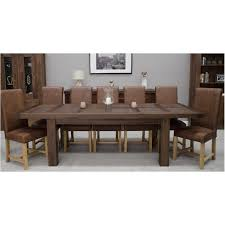 solid wood table with glass inlaid magnus dining table solid