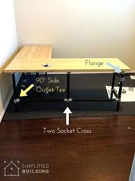 Diy L Shaped Computer Desk Diy L Shaped Desk These Are For How To Build A